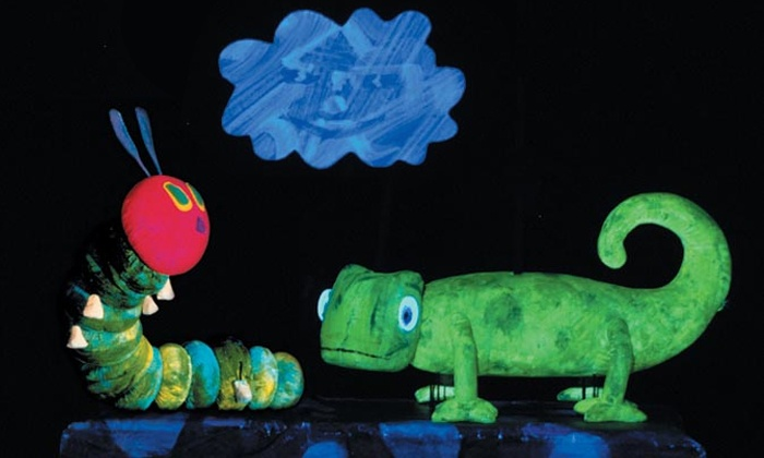 """""""The Very Hungry Caterpillar and Other Eric Carle Favorites"""" - Tilles Center Concert Hall: """"The Very Hungry Caterpillar"""" at Tilles Center Concert Hall on Saturday, March 29 (Up to 41% Off)"""
