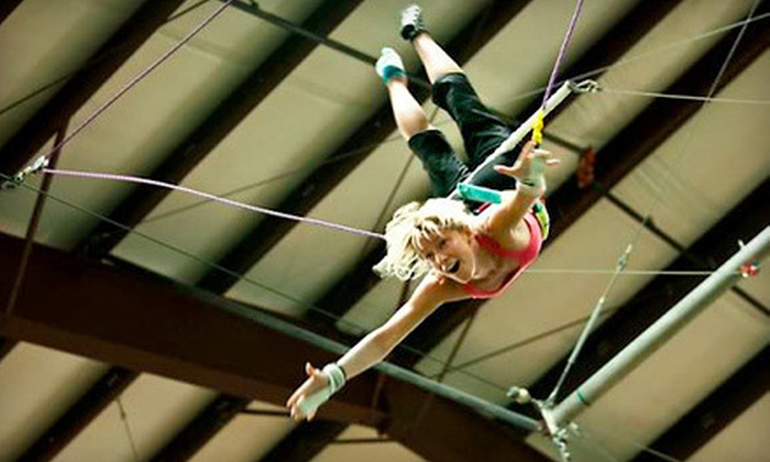 Trapeze Texas - The Stunt Ranch: $45 for a Two-Hour Flying-Trapeze Lesson at Trapeze Austin (Up to $90 Value)