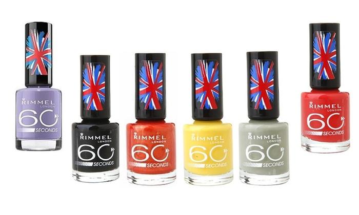 Rimmel 60 Seconds Nail Polish   Groupon Goods