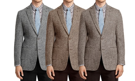 Braveman Men's Tweed Blazer