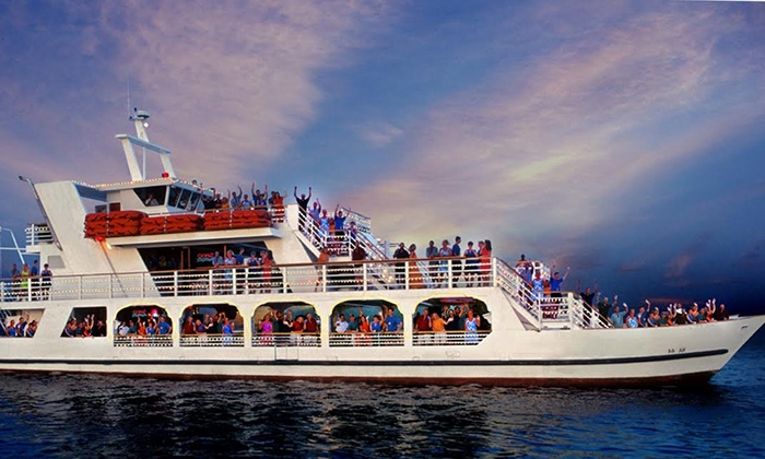 NYC Caribbean Party Cruise - New York Sky Sports Marina: NYC Caribbean-Style Party Cruise with Caribbean Buffet on Sunday, July 19 (Up to 40% Off)