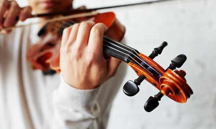 One 30Minute Private Music Lesson or Three OneHour Ones at The Eternal Artist(30% Off)
