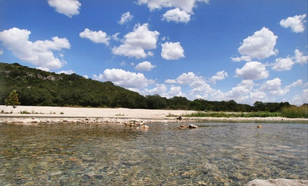 groupon daily deal - 2- or 3-Night Stay at Frio Country Resort in Texas Hill Country. Combine Up to 4 Nights.