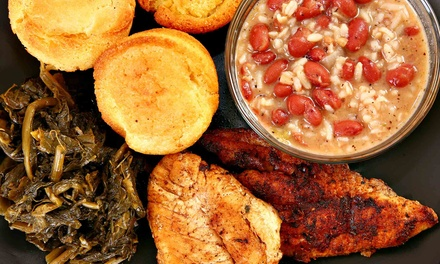 $11 for $20 Worth of Southern Food at Jen's Creoles Restaurant