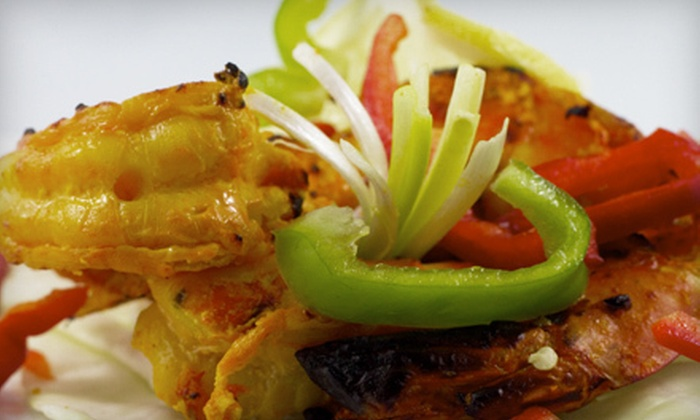 The Blue Taj - Crawford Plains: Indian Food at The Blue Taj (Half Off). Two Options Available.