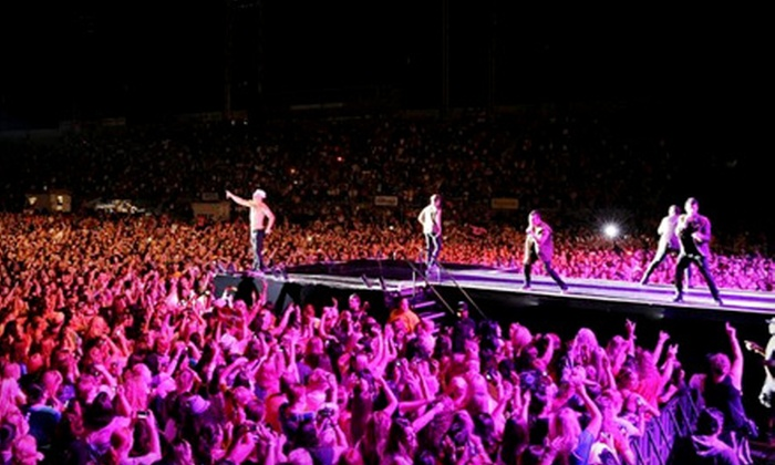 MixTape Festival with Train, New Kids on the Block, TLC & Jonas Brothers - Hersheypark Stadium: MixTape Festival with Train and New Kids on the Block at Hersheypark Stadium, July 26–27 (Up to 59% Off)