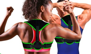 Bande postural correctif réglable pour épaule et dos avec scratch