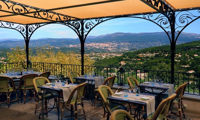Menu roger verg en 5 services l 39 amandier de mougins for Le jardin restaurant mougins