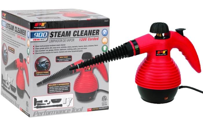 Performance Tool Handheld 900 Watt Steam Cleaner