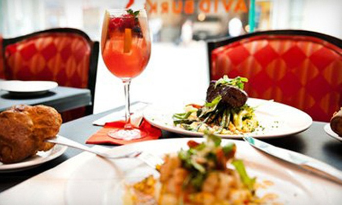 David Burke at Bloomingdale's - Bloomingdale's: $79 for a Three-Course Prix Fixe Dinner with Bottle of Wine and Port at David Burke at Bloomingdale's (Up to $211 Value)