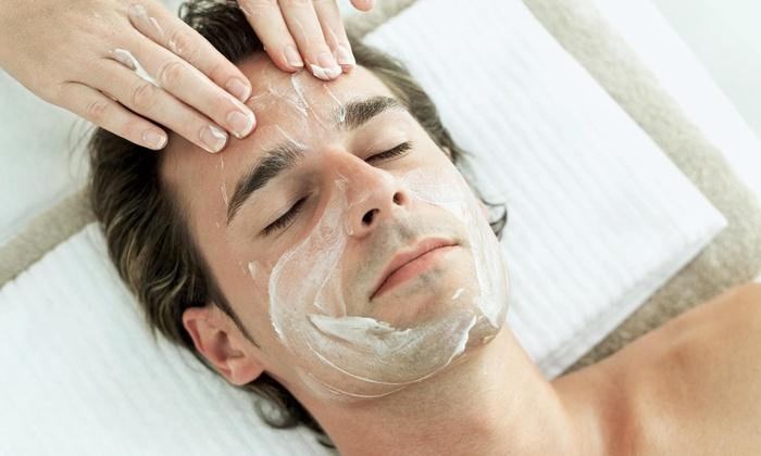 Harper Blvd. - Adriatica: 60-Minute Men's Facial from Harper Blvd. (49% Off)