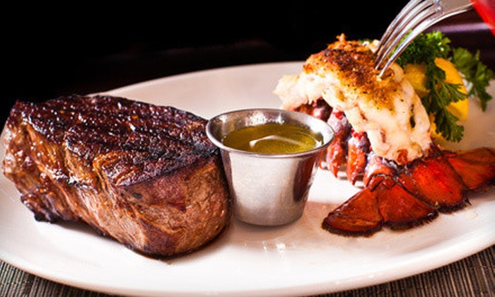 Star Steak and Lobster House - New Orleans: Steak and Seafood Cuisine at Star Steak and Lobster House (Up to 51% Off). Two Options Available.