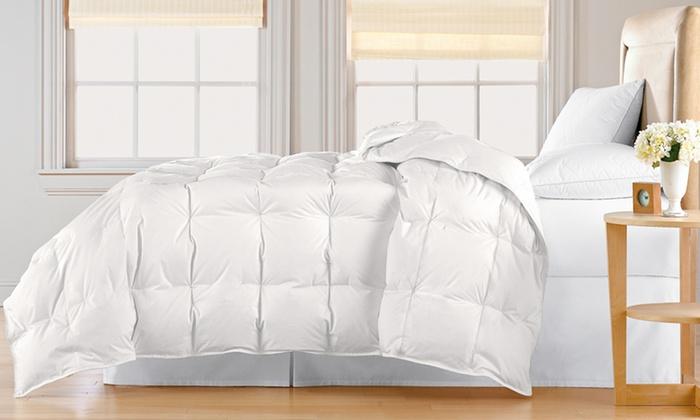 Hotel Grand 500-Thread-Count Egyptian Cotton White Down Comforter: Hotel Grand 500-Thread-Count Egyptian Cotton White Down Comforter. Multiple Sizes from $129.99–$189.99. Free Returns.