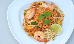 Amarin Thai Cuisine: $17 for $30 or $35 for $60 Worth of Food at Amarin Thai Cuisine