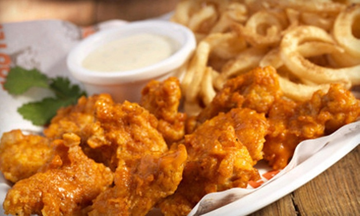 West Coast Hooters - Thousand Oaks: $24 for an American Dinner with Dessert for Two at West Coast Hooters (Up to $48.96 Value)