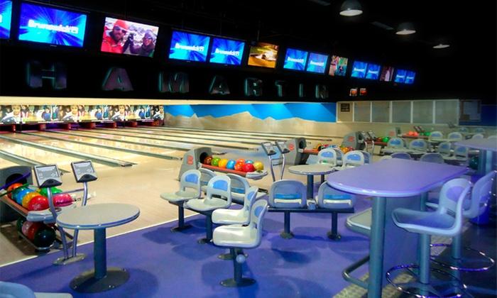 Bowling Chamartín - Bowling Chamartín: 2 partidas de bolos por persona para dos con perrito caliente o sándwich y bebida por 16,95 € en Bowling Chamartín