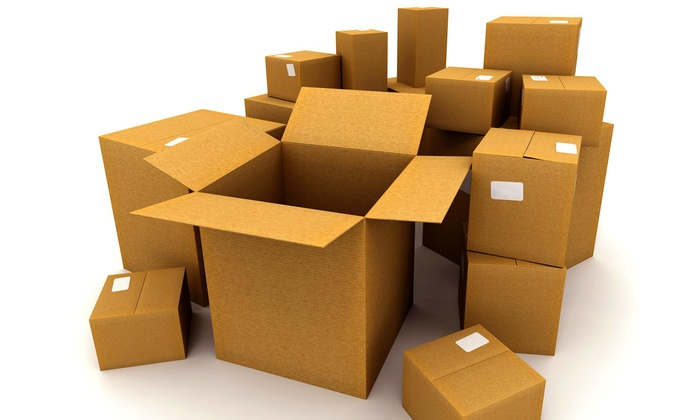 First Class Moving Company - Hartford: Two Hours of Moving Services with Two Movers and Supplies from First Class Moving Company (45% Off)