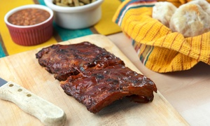 The Hog BBQ: Barbecue for Two or Four or More at The Hog BBQ (Up to 38% Off)