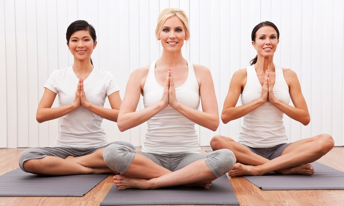 The Yoga Mat - Lake Zurich: 10 Yoga Classes or One Month of Unlimited Yoga Classes at The Yoga Mat (Up to 62% Off)