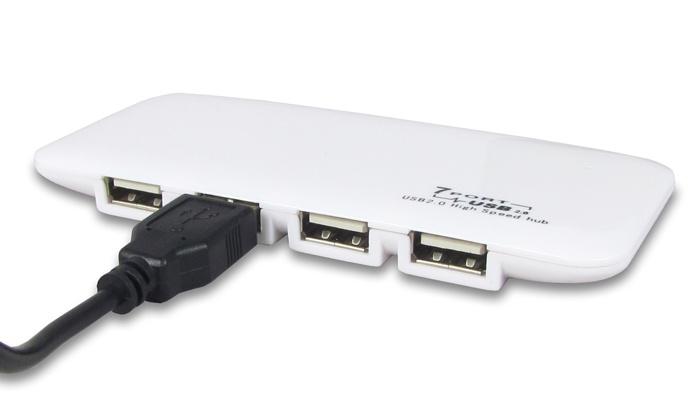 Groupon Goods: White USB Seven Port Hub for R179 Including Delivery (33% Off)