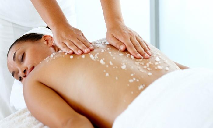 Namaste Salon and Spa - Edmonds: One or Three Mineral-Salt Body Polishes at Namaste Salon and Spa (Up to 59% Off)