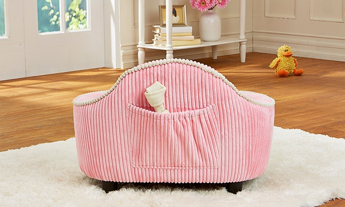 Corduroy Furniture-Style Pet Bed | Groupon Goods