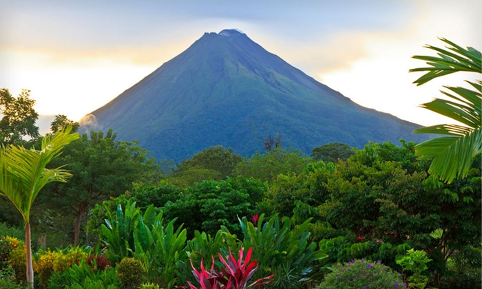 Costa Rica Beach and Volcano Getaway with Round-Trip Airfare - Hotel Magic Mountain: Seven-Night Costa Rica Vacation with Round-Trip Airfare and Ground Transfers from Travel by Jen