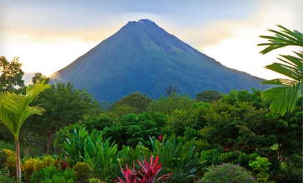 Seven-Night Costa Rica Vacation with Round-Trip Airfare and Ground Transfers from Travel by Jen from Costa Rica Beach and Volcano Getaway with Round-Trip Airfare -