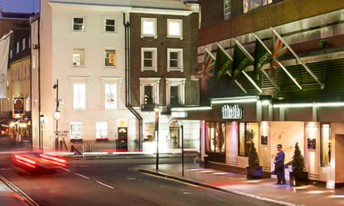 Thistle Marble Arch Non Accommodation In London Groupon