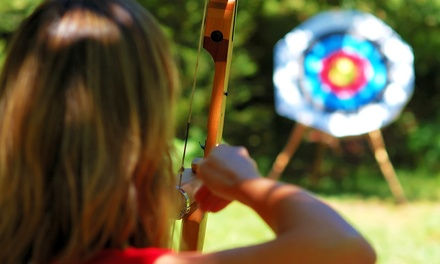 Introductory Archery Lesson with Equipment and Practice Time for Two or Four at Archery Only (Up to 58% Off)