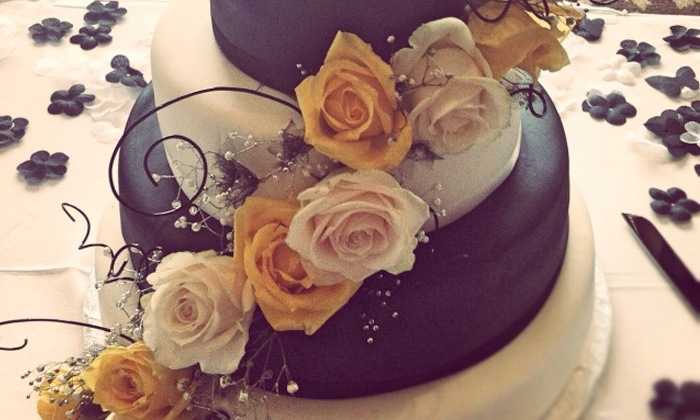 Cupcasions - Central City: Three-Tiered Wedding Cake or C$6 for C$12 Worth of Cupcakes at Cupcasions