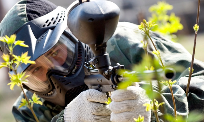Wildfire Paintball Games - Multiple Locations: Paintball Outings for One, Two, or Four at Wildfire Paintball Games (Up to 50% Off)