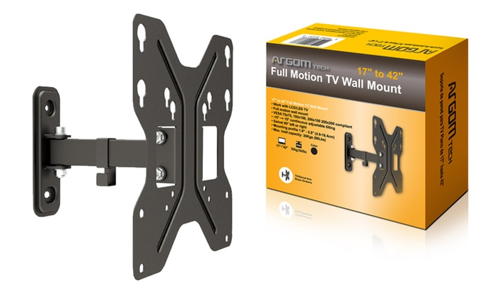 Argom Full Motion TV Wall Mounts: Argom Full Motion TV Wall Mounts. Multiple Models Available. Free Shipping and Returns.