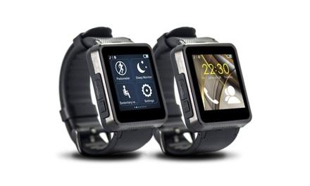 FormulaHD Smartwatch mit HD-Bildschirm und HD-Smartcam in SilberSchwarz inkl. Versand (Stuttgart)