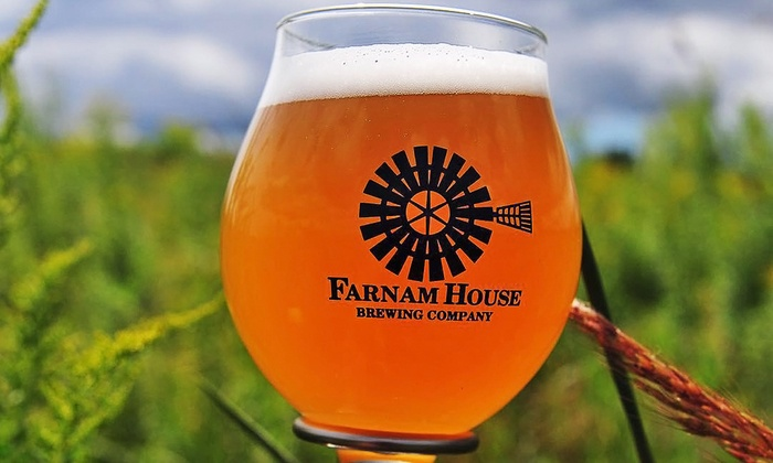 Farnam House Brewing - Blackstone District: Dinner for Two or Brewery Experience for Two at Farnam House Brewing (up to 48% Off)