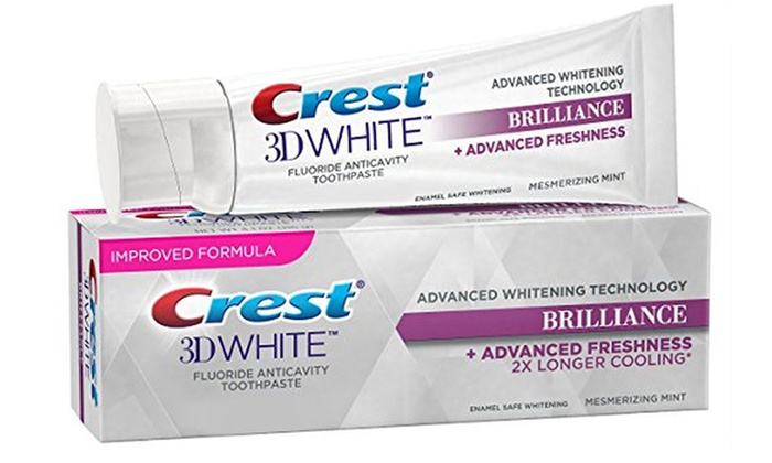 Up To 37 Off On Crest 3d Whitening Toothpaste Groupon Goods
