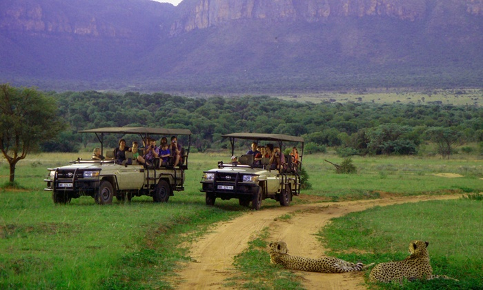 Legend Golf & Safari Resort - Pretoria: Limpopo: Full Board Accommodation and Two Game Drives at Kingfisher Lodge