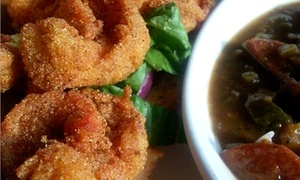 Sister Cities Cajun and BBQ: Cajun Food and Barbecue at Sister Cities Cajun and BBQ (Up to 43% Off)