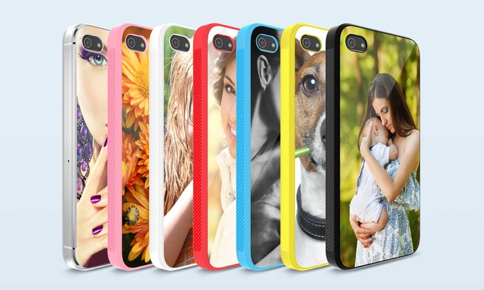 PrinterPix: Custom Case for iPhone 5/5s, 6, or 6 Plus with Optional Tempered Glass Screen Protector from Printerpix. Free Shipping.