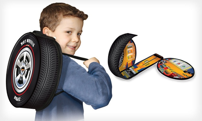 Hot Wheels Case and Play Mat: $10 for a Hot Wheels Racer and Play Mat ($19.99 List Price)