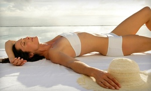 Celebrity Skin: $20 for One Organic Airbrush-Tanning Session at Celebrity Skin (Up to $45 Value)
