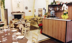 Palazzo Dante (Racale): Ricco menu di mare con dolce e vino per 2 o 4 persone al Palazzo Dante (sconto fino a 76%)