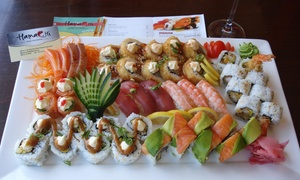Hamachi: Sushi Platters from R149 at Hamachi
