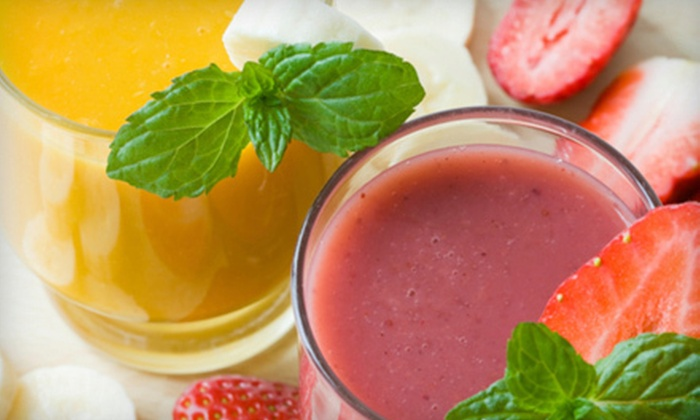 NuVibe Juice & Java - Lockport: Five Smoothies or $10 for $20 Worth of Espresso Drinks, Smoothies, and Sandwiches at NuVibe Juice & Java in Lockport