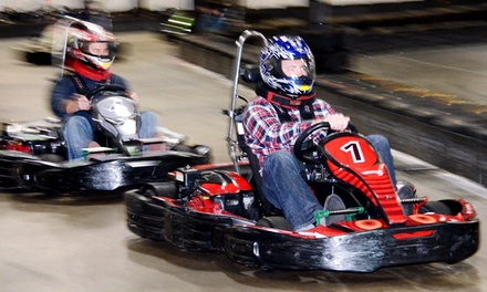 Two Eight-Minute Races or Grand Prix Race Package for up to 10 at RushHour Karting (Up to 55% Off)