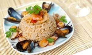Ristorante La Torre: Menu di pesce con pasta fresca e vino al Ristorante La Torre (sconto fino a 62%)