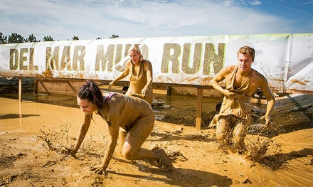 Wave 1 or Wave 2 Race Entry for One, Two, or Four to the Del Mar Mud Run on Saturday, Sept. 26 (Up to 44% Off)
