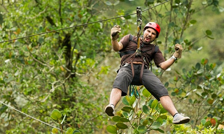 Zipline Tour for 2, or Package with Accommodations and Optional Archery at The Wilderness Way (Up to 50% Off)