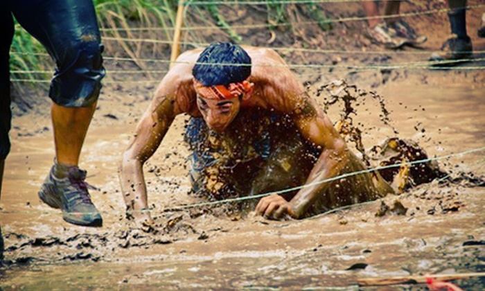 The Rhino Challenge - Grattan: Family-Friendly Obstacle-Race Entry for One, Two, or Four from The Rhino Challenge on July 20 (Up to 58% Off)