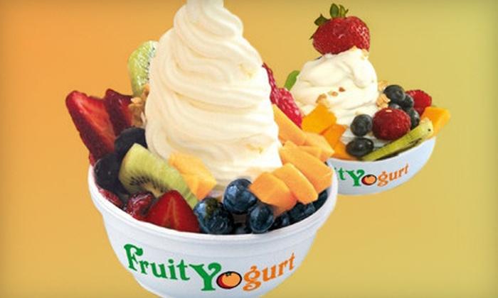 Fruity Yogurt - Sugar Land: $5 for $10 Worth of Frozen Yogurt at Fruity Yogurt